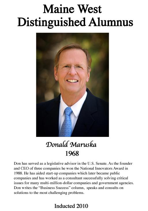 Donald Maruska '68