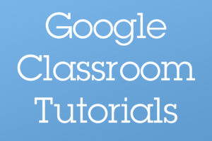 West Google Classroom