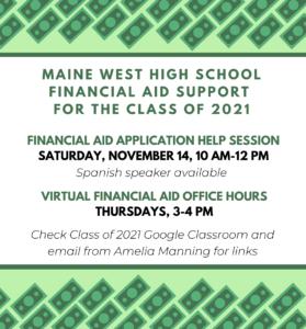 2020 21 Financial Aid Workshops