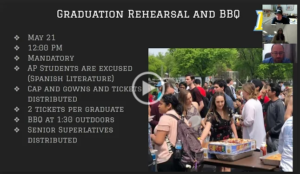 Senior Video Information
