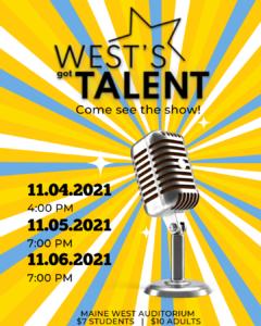 Copy of Copy of Copy of Copy of West's Got Talent! 2021